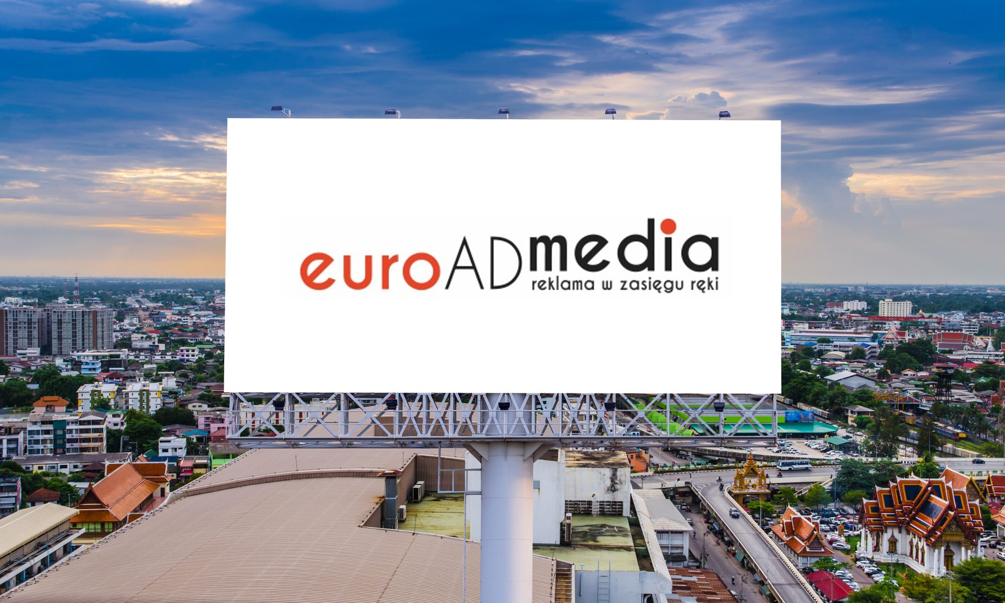 Euroadmedia - Reklama na Billboardzie